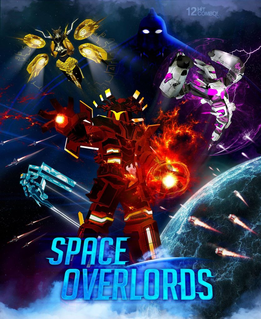 Games PS Plus Juli 2018 Space Overlords
