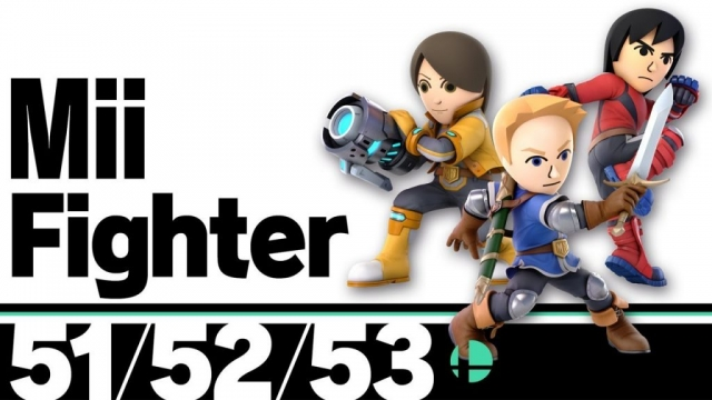 Super Smash Bros. Ultimate Wii Fighters