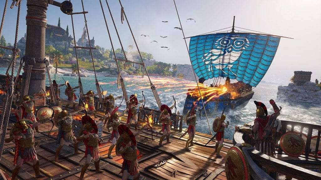 naval Assassin's Creed Odyssey