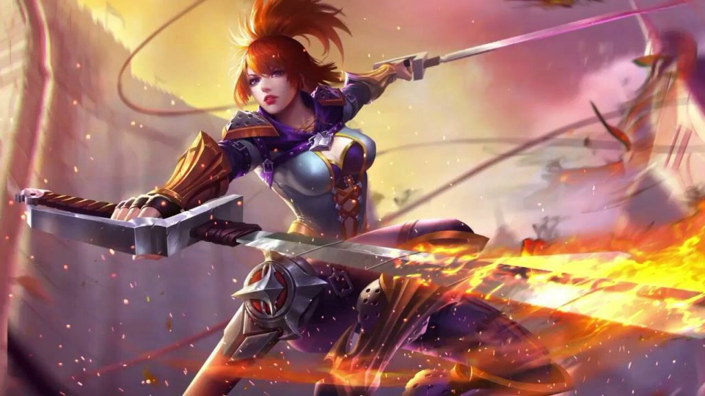 fanny Hero Mobile Legends Terkuat mobile legends