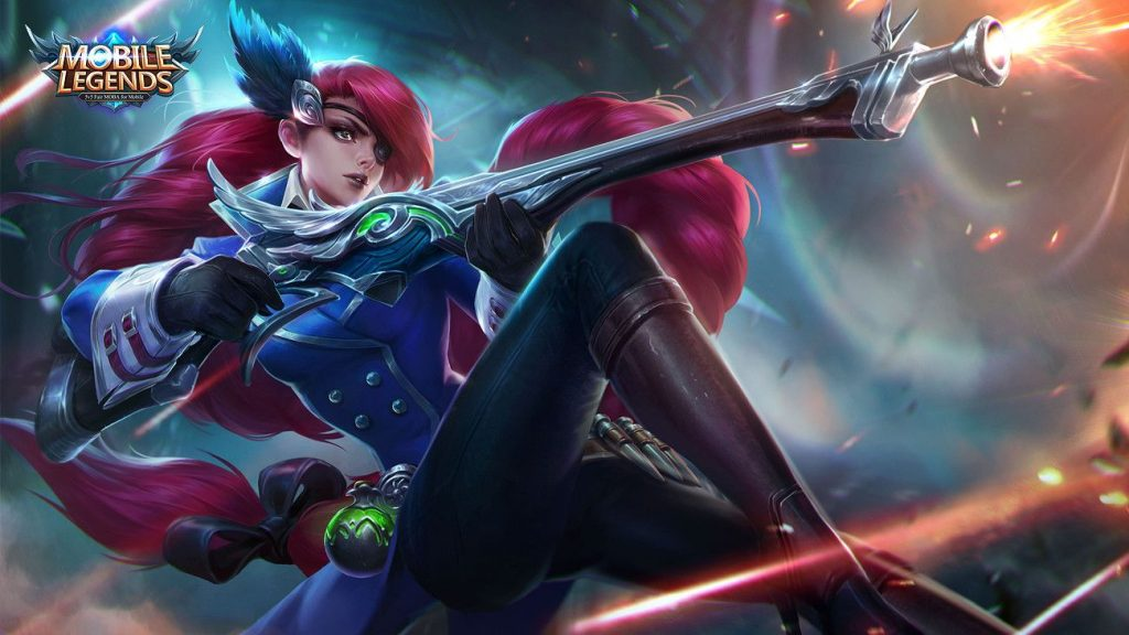 lesley Hero Mobile Legends Terkuat mobile legends