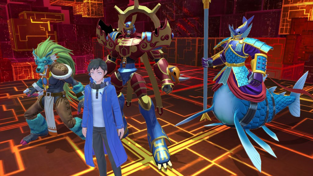 Game Anime Digimon Story Cyber Sleuth - Hacker's Memory