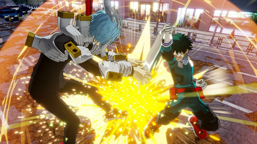 Game Anime My Hero One's Justice