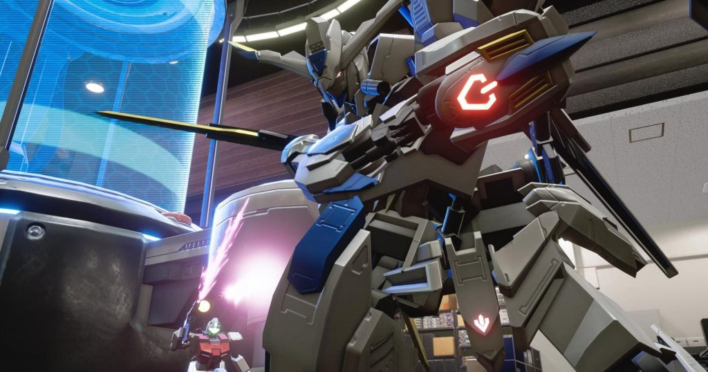 Game Anime New Gundam Breaker