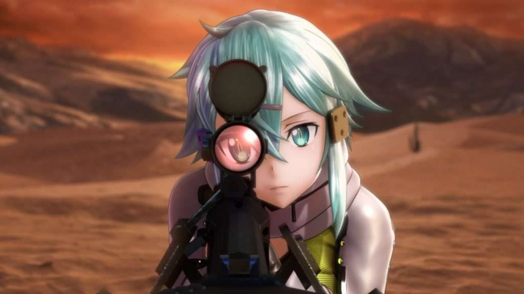 Game Anime Sword Art Online Fatal Bullet