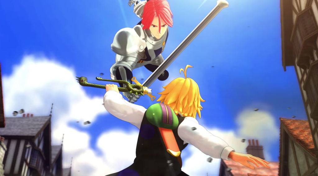 Game Anime The Seven Deadly Sins Knights of Britannia