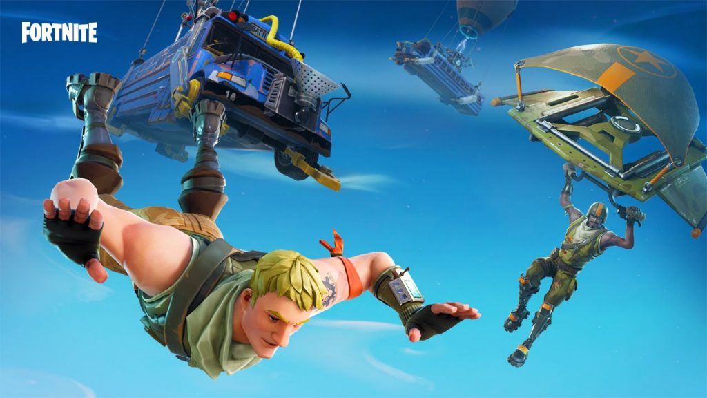 Game Mobile Terbaik fortnite