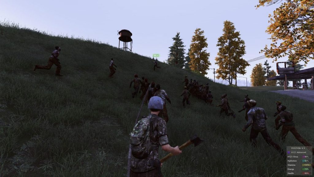 Sejarah Game Battle Royale h1z1