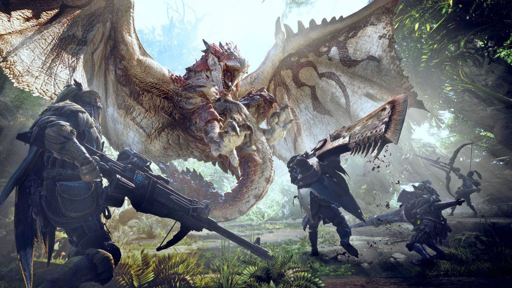 Daftar Game Online Terbaru 2018 Monster hunter