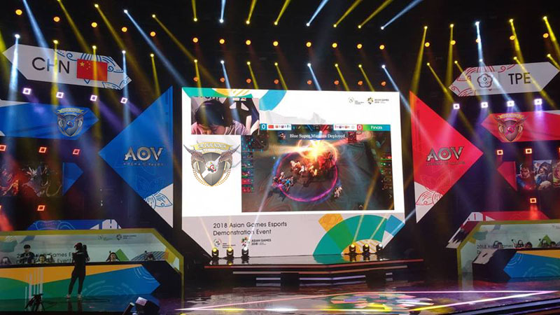 Timnas AOV Indonesia Di eSport Asian Games 2018