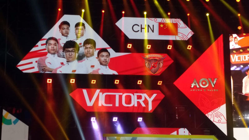 timnas AOV China juara Asian Games 2018