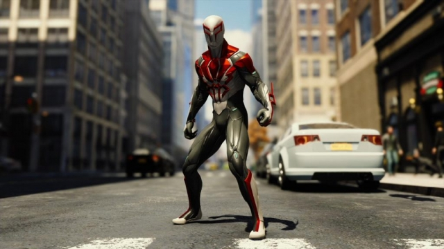 Spiderman 2099 White Suit