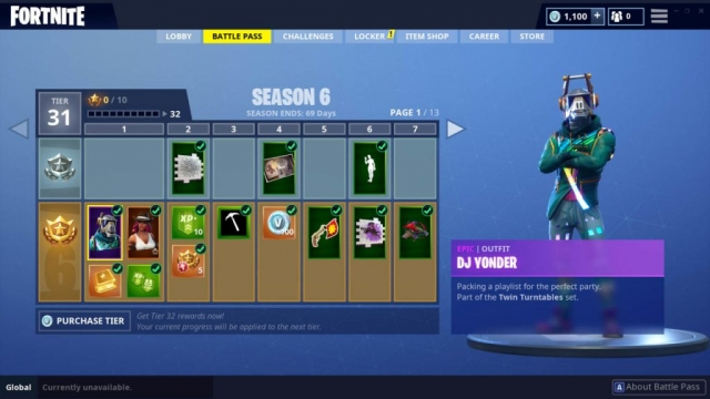 DJ Yonder Outfit (Epic)