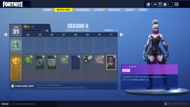 Dusk Outfit (Epic)