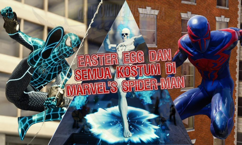 Easter Egg Di Marvel's Spider-Man