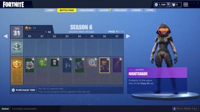 Nightshade Outfit (Epic)