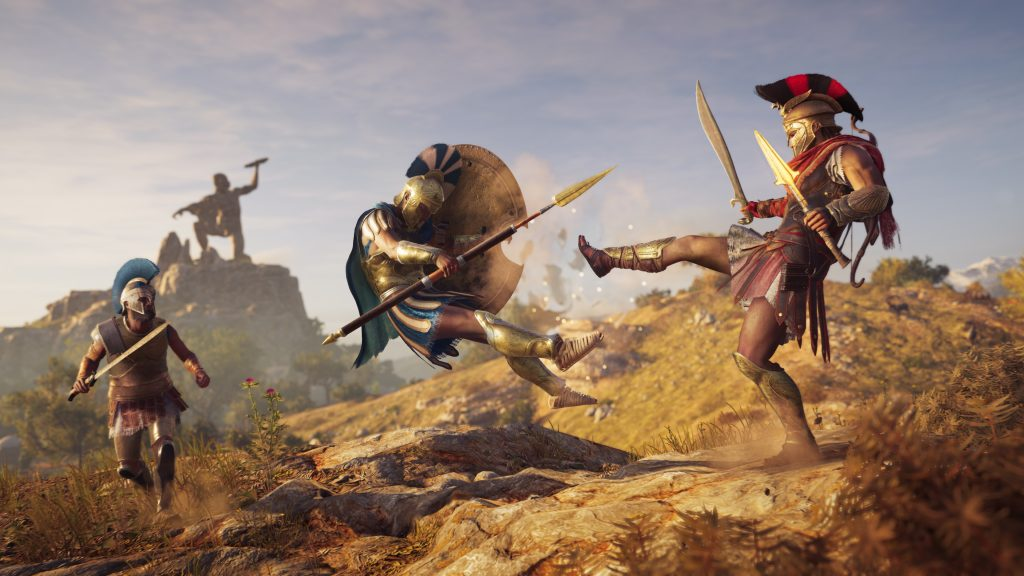 spartan kick Assassin's Creed Odyssey