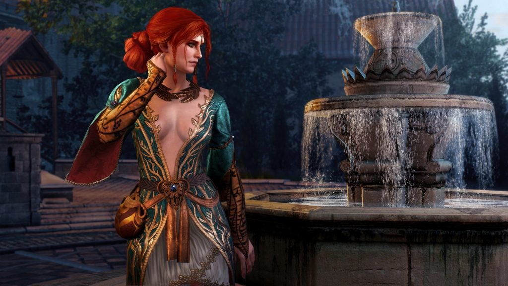 Triss The Witcher