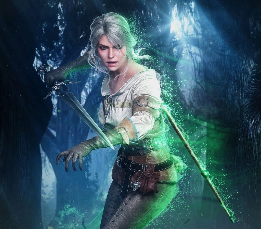 Ciri The Witcher