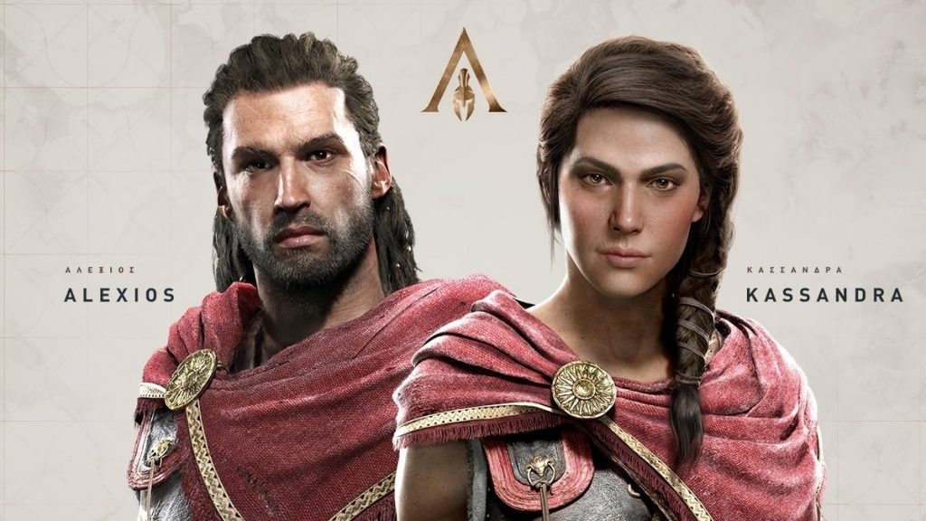 karakter Assassin's Creed Odyssey