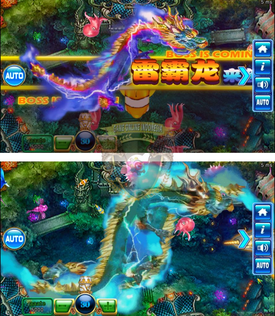 Tembak Ikan Ocean King 2 : Ocean Monster Plus