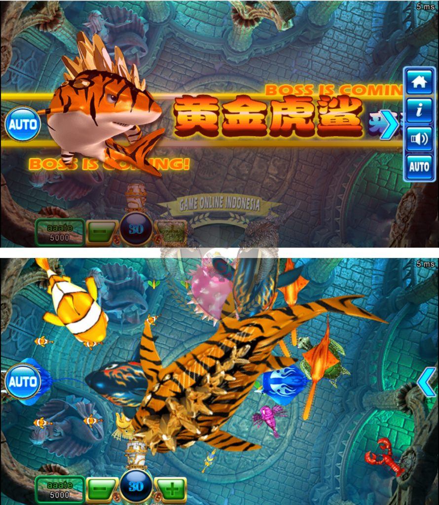 Boss Tembak Ikan Ocean King 2 : Ocean Monster Plus