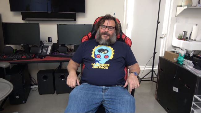 Jack Black Membuka Channel YouTube